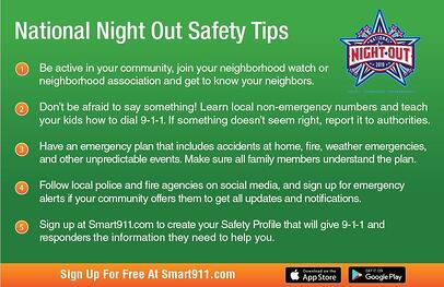 NNO Safety Tips