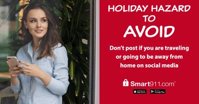 Holiday Hazard to Avoid-socialmedia
