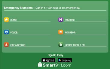 Emergency Numbers NNO