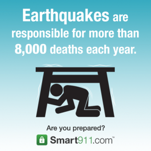 Earthquake Graphic
