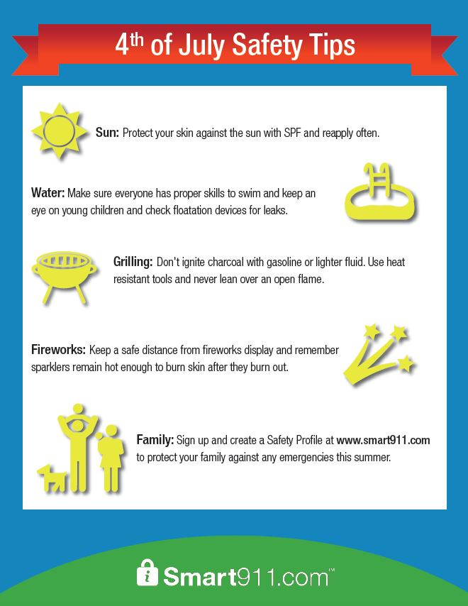 Smart911_4th_Safety Tips
