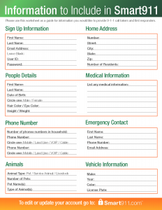 Smart911_SignUp_Form_Medical