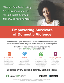 Smart911- DV Empowering Survivors- Flyer 4