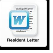 Smart911 Resident Letter
